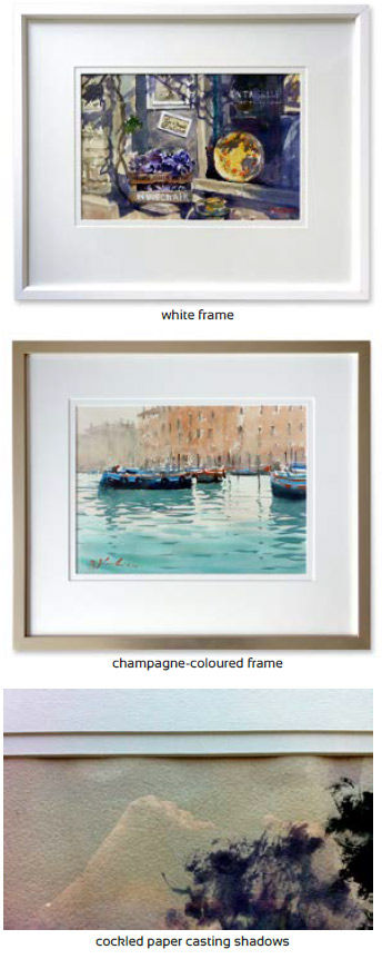 How To Frame Your Painting For Exhibitionsplash Watercolour