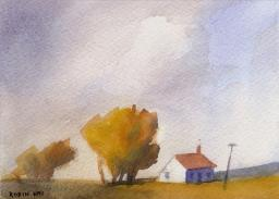 Farm Cottage by Robin Kay