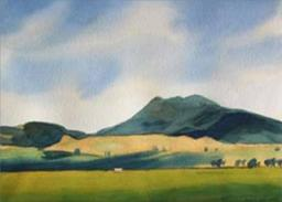 Mt Tauhara from the north 2012 by Robin Kay
